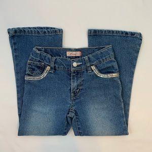 Girls Levi's Size 6 Adjustable Waist Jean